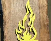 Flame-Mask